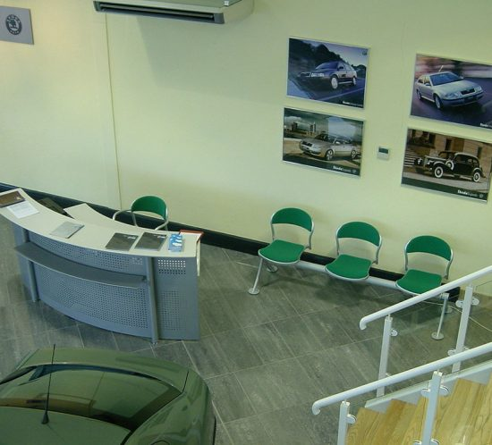 Sligo Car Showroom