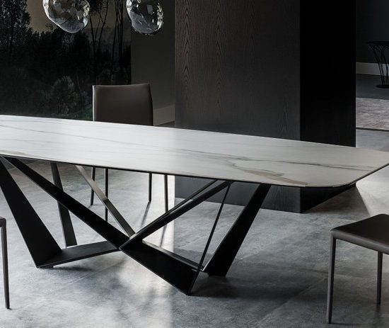 Skorpio Keramik Table - Cattelan Italia