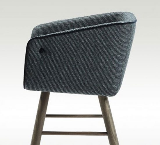 Collar Mao chair by Sancal