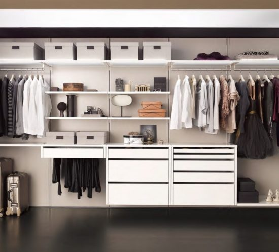 Collect wardrobes and storage systems by interlübke