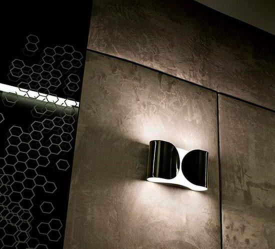 Foglio interior wall light by Flos