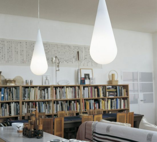 Goccia pendant lighting from Rotaliana
