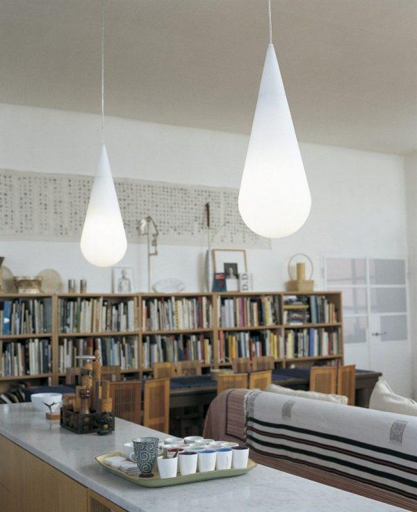 Goccia pendant lighting from Rotaliana