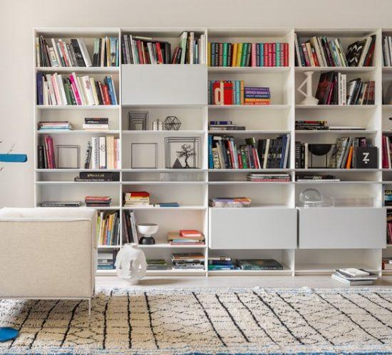 interlübke - grid shelving and storage
