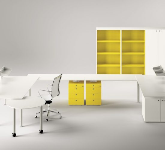 Meta office furniture system - Fantoni