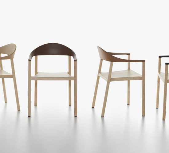 Monza armchair by Plank