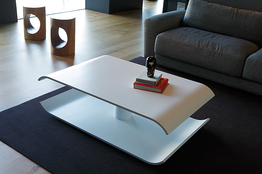 Elipse coffee table by Sancal