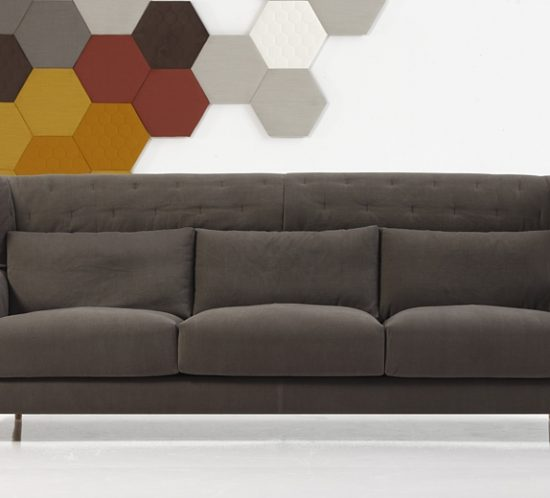 Folk sofa by Sancal