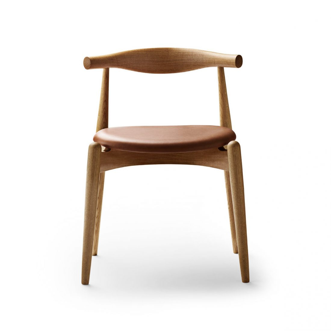 Front view of a Carl Hanson & Son CH20 Elbow chair