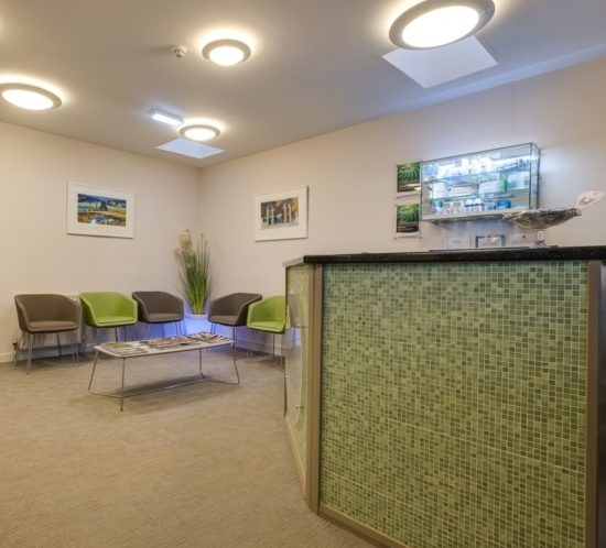 Radiant Dentistry reception area